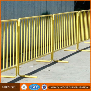 Expandable Crowd Control Steel Garden Barriers pictures & photos