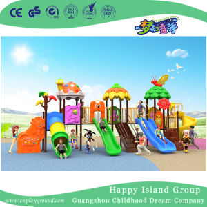 2018 New Outdoor Tree Leaves and Animal Roof Children Playground Equipment (H17-B7) pictures & photos
