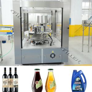 Hot Melt Glue Labeling Machine for Round Bottle (RFL-R Series) pictures & photos