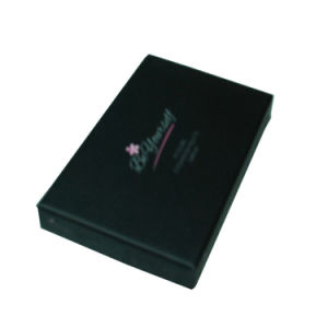 Black Paper Drawer Type Gift Box Eco pictures & photos
