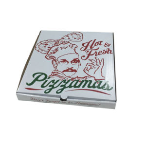Cheap Price Pinted Corrugated Paper Pizza Box pictures & photos