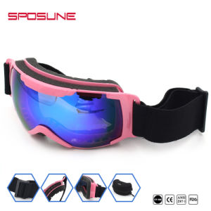 100% UV Protected Brand Polarized Fashion Sports Snowboard Goggles pictures & photos