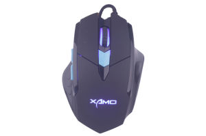 Computer Mouse/USB Wired Gaming Mice for PC Mouse Msg-X2 Gaming Mouse 6 Buttons 3200 Dpi Black pictures & photos