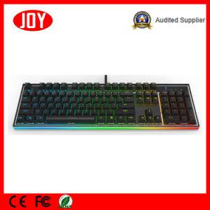 Ergonomic Backlight Mechanical Gaming Keyboard pictures & photos