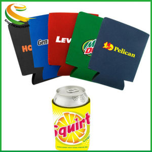 2017 Hot Selling Holiday Gift Bottle Neoprene Can Cooler with Handle pictures & photos