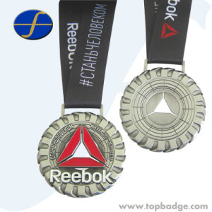 Custom Honor Commemorative Olymp Sport Running Medal with Ribbon (FTMD1486A) pictures & photos