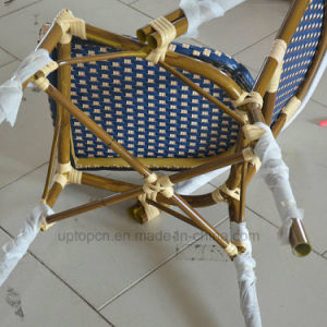 French Bistro Bamboo Look Outdoor Aluminium Rattan Chair (SP-OC443) pictures & photos