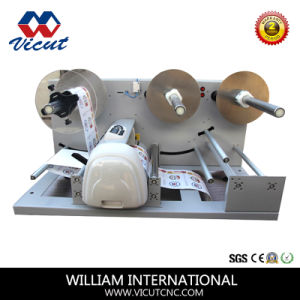 Automatic Paper Rotary Adhesive Label Roll Die Cutting Machine pictures & photos