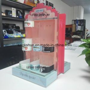 OEM/ODM 2-Sided Rotating Acrylic Cosmetic Display, High Quality China Acrylic Makeup Organizer Manufacturer pictures & photos