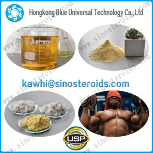 Lean Muscle Building Light Yellow Trenbolone Acetate Fat Loss pictures & photos