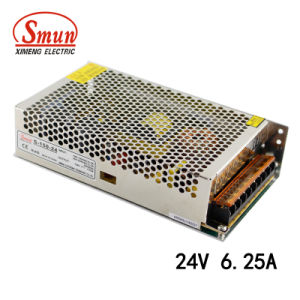 Smun S-150-24 150W 24VDC 6.5A AC-DC Power Supply Converter pictures & photos