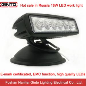 High Quality 18W 6′′ E-MARK Offroad LED Work Light (GT1012-18W) pictures & photos