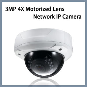 3MP 4X Motorized Lens 180 Degree Pan Network IP Camera pictures & photos
