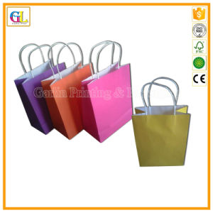 Paper Shopping Bag Printing Service (OEM-GL002) pictures & photos
