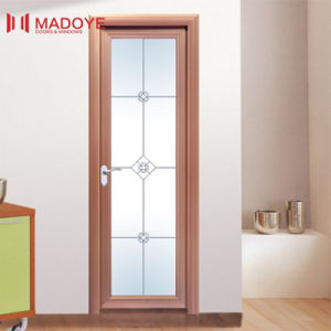 China Manufacture Insulating Glass Aluminum Door for Toilet pictures & photos