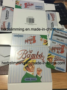 Big Bambu Rolling Paper Cigarette Papers for Smoking 50 Booklets a Box Size pictures & photos