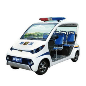4 Seaters Electric Police Patrol Vehicle pictures & photos