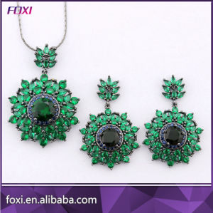 Wholesale Zircon Jewelry Heart Shape Design Fashion Jewelry Sets pictures & photos