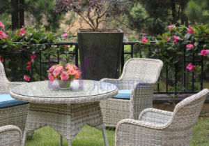 Wholesale China Manufacture Cheap PE Rattan Aluminium Patio Garden Chair pictures & photos
