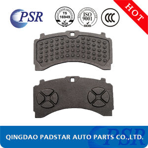 Wva29087 Auto Parts Truck Brake Pad Cast Iron Back Plate pictures & photos