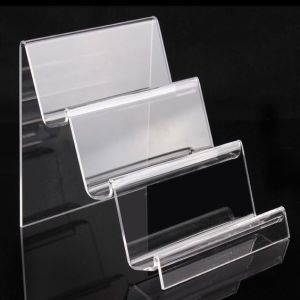 High Transparent Acrylic Nail Polish Organizer Acrylic Nail Rack pictures & photos