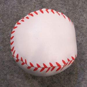 Baseball Shape PVC Soft Ball with PP Cotton Filling pictures & photos
