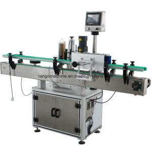 Automatic Three Label Two Label One Side 2side Adhesive Sticking Labeling Machine pictures & photos