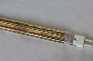 Gold Refelctor Twin Tube Infrared Lamp pictures & photos
