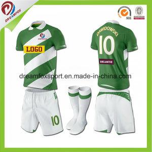 Dry Fit Sublimation Football Jerseys Custom Soccer Uniform Design pictures & photos