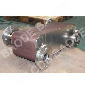 Stainless Steel AISI 316 Plates Copper Brazed Plate Heat Exchanger Evaporator pictures & photos