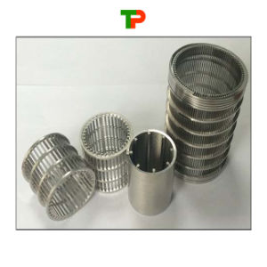 Stainless Steel Water Filter Wedge Wire Screen pictures & photos