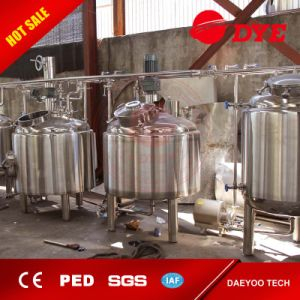 500L Steam Heating 4 Vessels Brewhouse pictures & photos