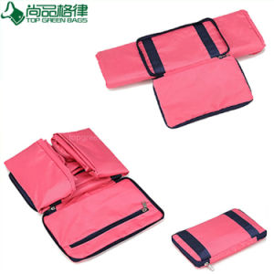 Custom Colorful 100% Polyester Shoulder Foldable Folding Travel Bag pictures & photos