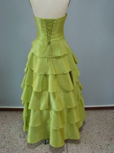Organza Strapless Prom Dress, Party Dresses, Evening Dresses (ED3027) pictures & photos