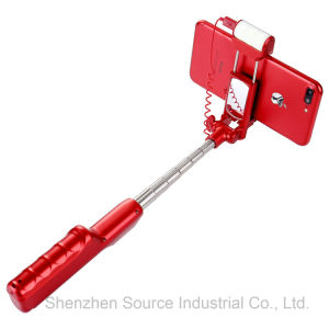 Original Factory Bluetooth Selfie Stick with LED Flash Light (RK-04) pictures & photos