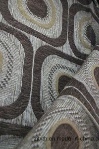 Gemotric Africa Chenille Sofa Fabric (FTH31149) pictures & photos
