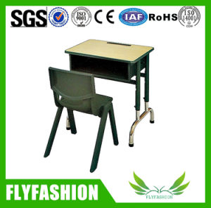 High Quality Adjustable Classroom Furniture Single Student Desk and Chair (SF-88S) pictures & photos