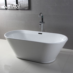 Fall in Love White Quality Acrylic Soaking Bath Tub (WTM-02520) pictures & photos