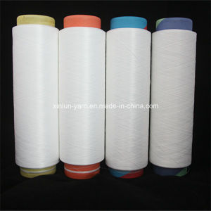 Virgin 100% Polyester Filament Knitting DTY Yarn (AA GRADE fabric) pictures & photos
