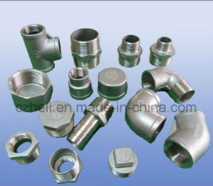 304L or 316L Stainless Steel Pipe Fittings Female Hexagon Cap pictures & photos