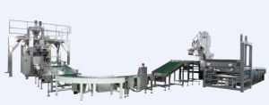 Customized Fully Automatic Pellet Packing Line with Robot Palletizer pictures & photos