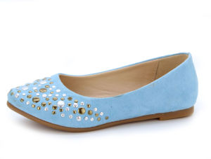 School Footwear Christening Children Dress Kids Girl Shoes (LX-1059)