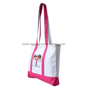 Simple Large Canvas Tote Bag pictures & photos
