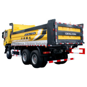 6X4 340HP Iveco Genlyon Dump Truck/ Tipper pictures & photos