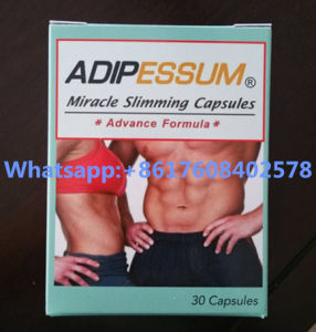 Adipessum OEM Slimming Gray Orange Weight Loss Pills pictures & photos
