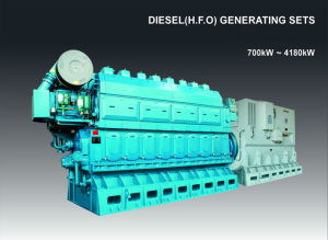700kw-4180kw Including Purifying Googol Crude Oil Generator pictures & photos