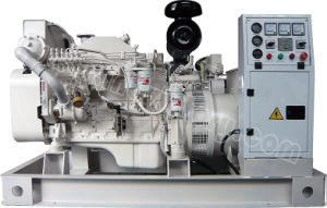 40kVA~250kVA Cummins Marine Auxiliary Diesel Generator with CCS/Imo Certification pictures & photos