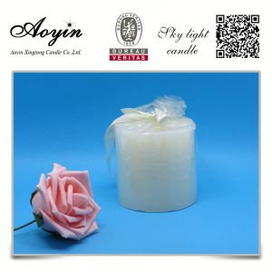 Wholesale Cheap 5*5 White Scented Pillar Candles pictures & photos