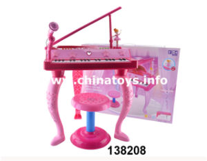 2017 New Production Popular Plastic Toys Piano (138208) pictures & photos