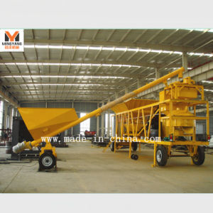 20m3/H Mobile Concrete Mixing Plant / Batching Plant